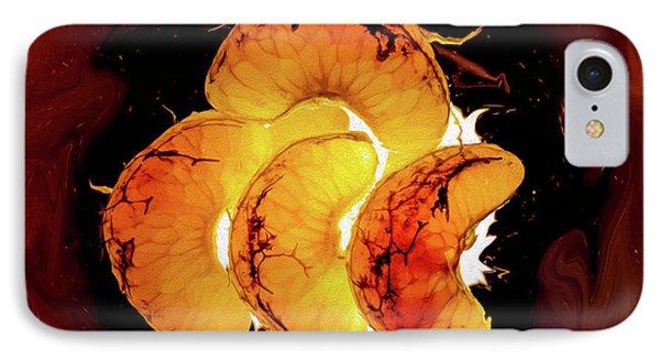 Orange Choc IPhone Case
