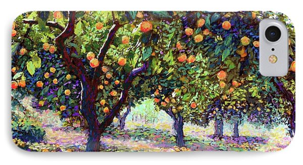 Orange Grove Of Citrus Fruit Trees IPhone Case