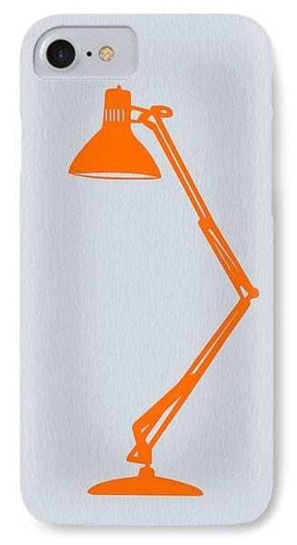 Orange Lamp IPhone Case