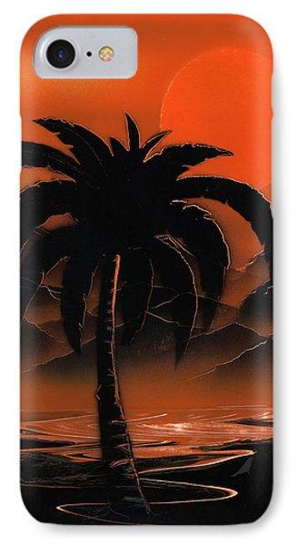 Orange Oasis IPhone Case