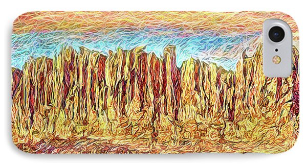 Orange Sky Cliffs - Colorado IPhone Case