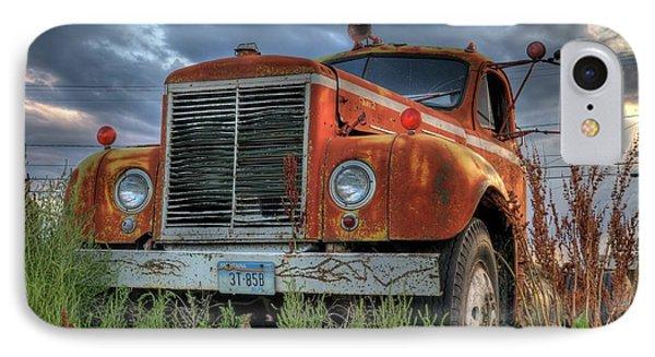 Orange Truck IPhone Case