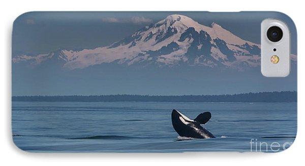 Orca - Mt. Baker IPhone Case
