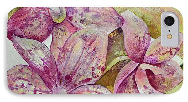 Orchid iPhone 8 Case - Orchid Envy by Shadia Derbyshire