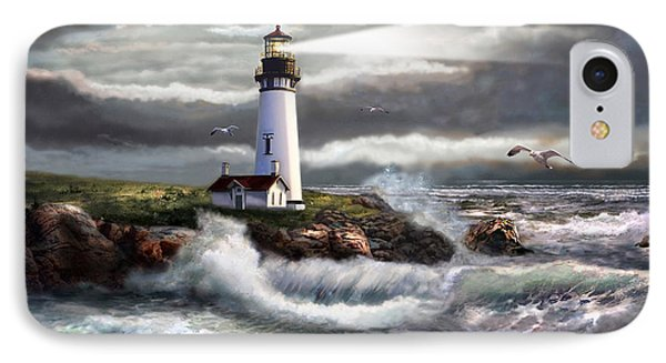 Oregon Lighthouse Beam Of Hope IPhone 8 Case