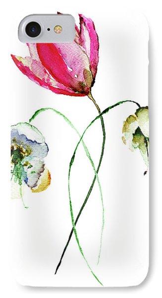 Original Summer Flowers IPhone Case