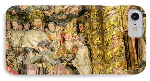 Ornate Gold Guilded Altar IPhone Case