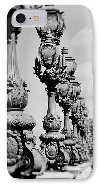 Ornate Paris Street Lamp IPhone Case