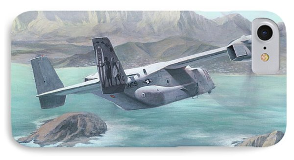 Osprey Over The Mokes IPhone Case