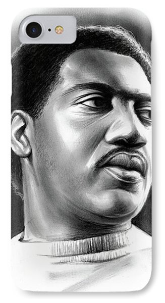 Rhythm And Blues iPhone 8 Case - Otis Redding by Greg Joens