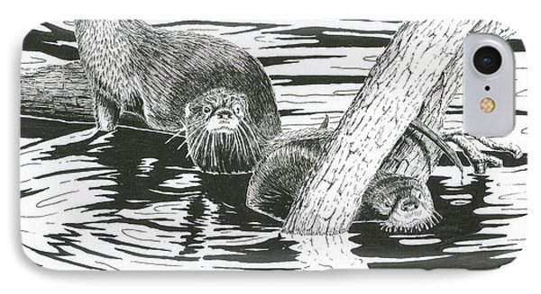 Otters Three IPhone Case