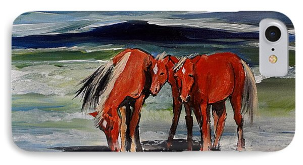 Outer Banks Wild Horses IPhone Case
