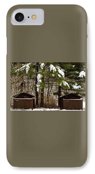 Outhouses In The Cold IPhone Case