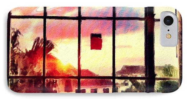 Outside My Window... IPhone Case