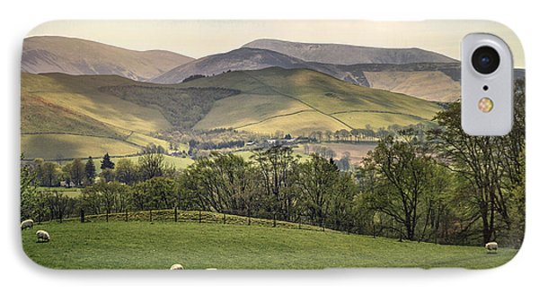 Scotland iPhone 8 Case - Over The Hills And Far Away by Evelina Kremsdorf