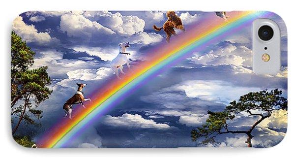 Over The Rainbow Bridge IPhone Case