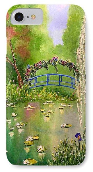 Overgrown Pond IPhone Case