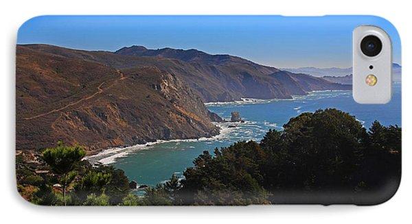 Overlooking Marin Headlands IPhone Case