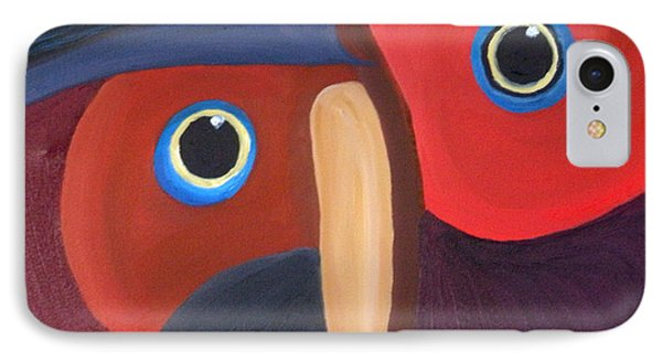 Owl - Sold IPhone Case by Paul Anderson
