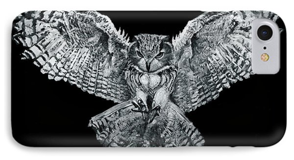 Owl 1 IPhone Case