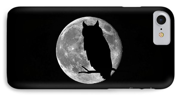 Owl Moon IPhone Case
