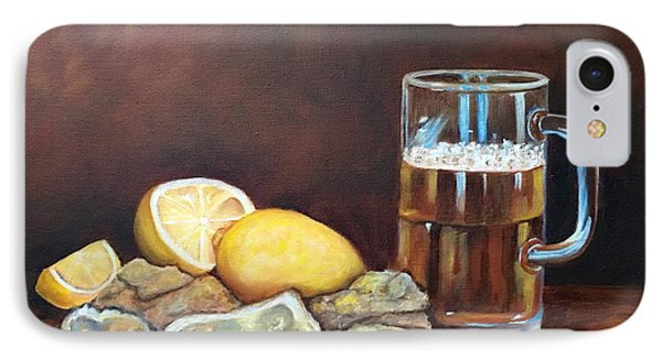 Oysters And Beer IPhone Case