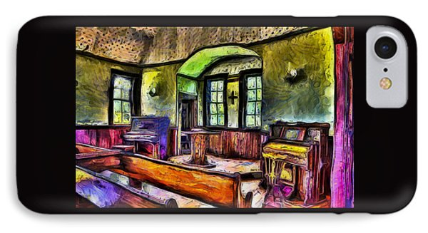 Oysterville Church Interior IPhone Case
