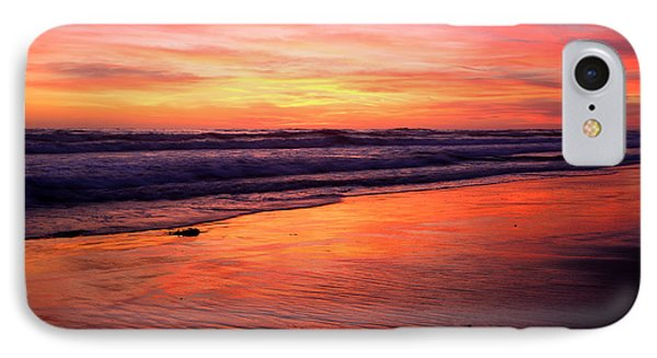 IPhone Case featuring the photograph  Cardiff Coast  by John F Tsumas
