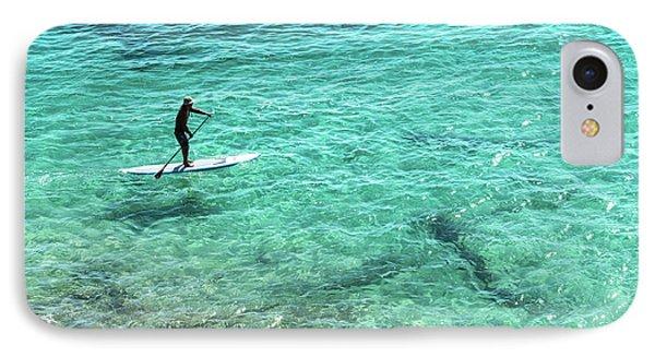 Paddle The Aqua Sea IPhone Case