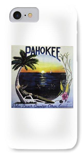 Pahokee Logo IPhone Case