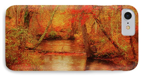 Painted Fall IPhone Case