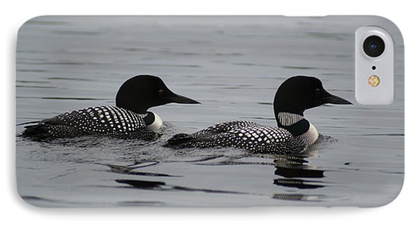 Pair Of Loons IPhone Case