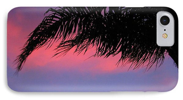 Palm At Sunset IPhone Case