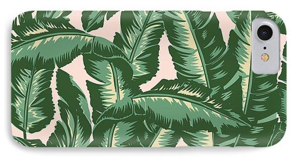 Print iPhone 8 Case - Palm Print by Lauren Amelia Hughes