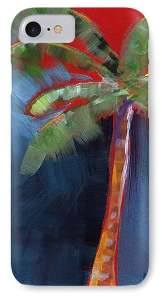 Palm Tree- Art By Linda Woods IPhone Case