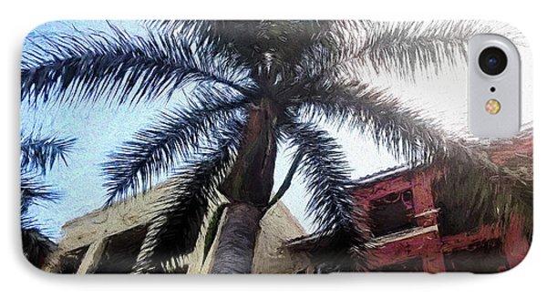Palm Tree Art IPhone Case