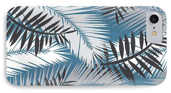 Sky iPhone 8 Case - Palm Trees 10 by Mark Ashkenazi