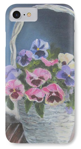 Pansies For A Friend IPhone Case