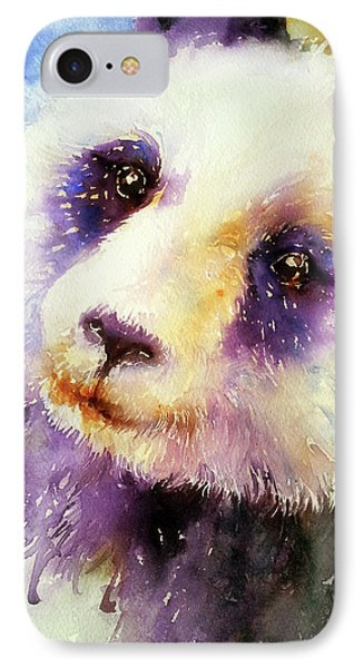 Pansy The Giant Panda IPhone Case