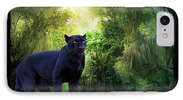 Panther Alert IPhone Case