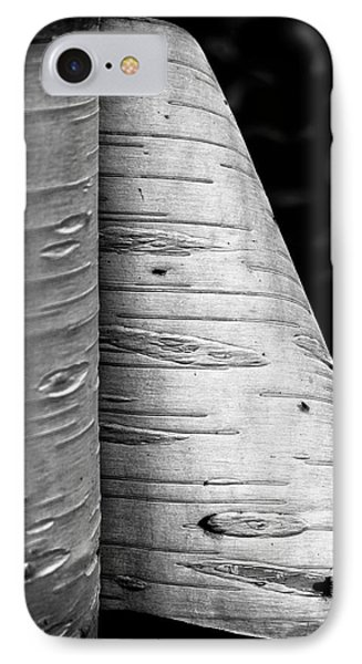 Paper Bark Birch IPhone Case