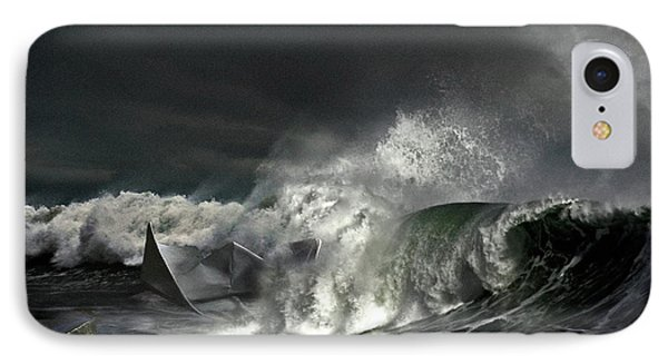 Paper Boat IPhone Case