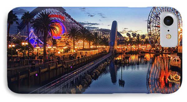 Paradise Pier Sunset IPhone Case