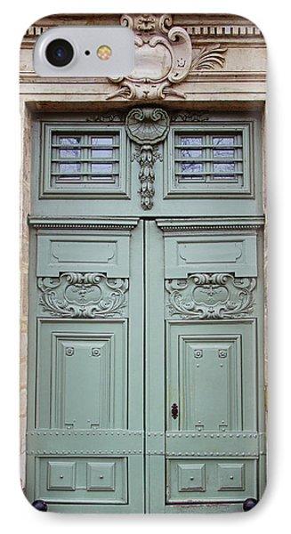 Paris Doors No. 29 - Paris, France IPhone Case