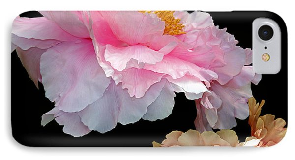 Pas De Deux Glowing Peonies IPhone Case