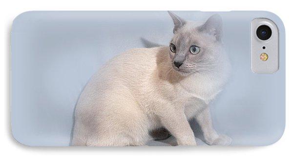 Pastel Angel Kitty IPhone Case