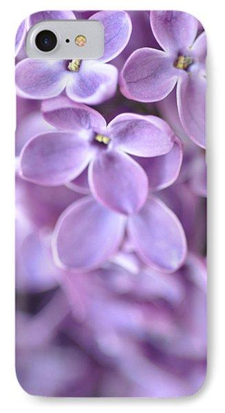 Pastel Lilacs IPhone Case