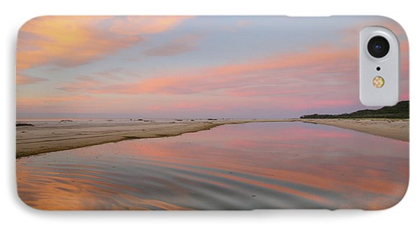 Pastel Skies And Beach Lagoon Reflections IPhone Case