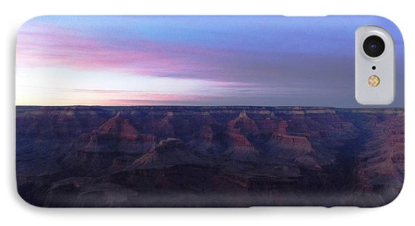 Pastel Sunset Over Grand Canyon IPhone Case