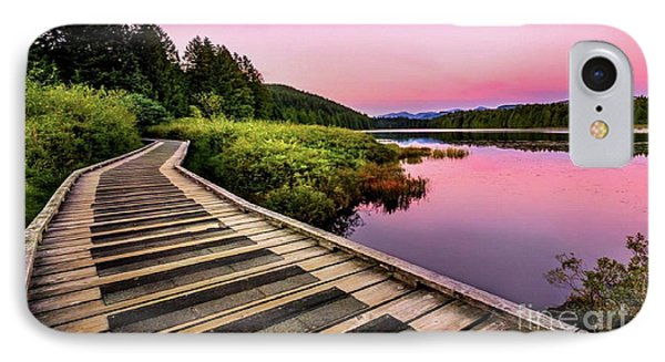 Path By The Lake IPhone Case
